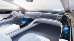 Mercedes EQS, il teaser degli interni