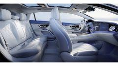 Mercedes EQS: l'abitacolo della nuova EQS