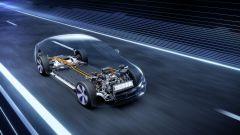 Mercedes EQS: l'architettura EVA a nudo