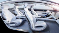 Mercedes EQS, spazio e tecnologia