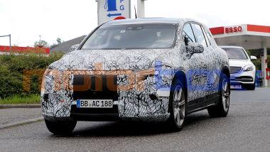 Mercedes EQS SUV: autonomia di oltre 650 km