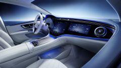 Mercedes EQS: un altro esempio di quello che si potrà vedere dai posti anteriori