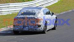 Mercedes EQS: visuale posteriore