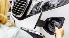 Mercedes EQV, chiamatela EQ VIP. Prova video dell'elettro-Classe V - Immagine: 6