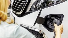 Mercedes EQV, 405 km di autonomia