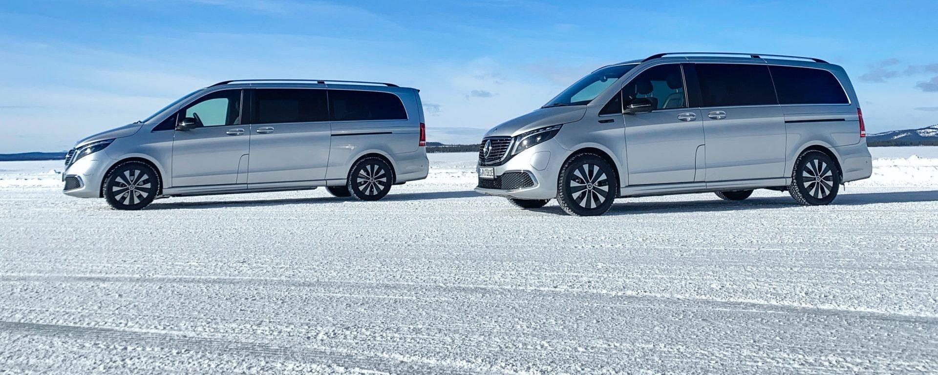 Mercedes EQV: disponibile in versione da 5,14 m e 5,37 m