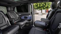 Mercedes EQV: disposizione sedili posteriori