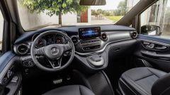 Mercedes EQV, gli interni