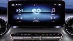 Mercedes EQV, il display centrale