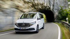 Mercedes EQV, il frontale