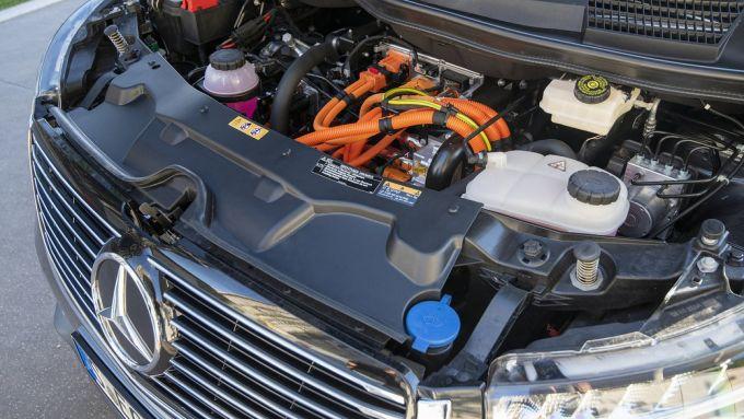 Mercedes EQV: il motore elettrico