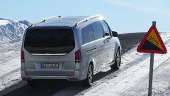Mercedes EQV: il posteriore