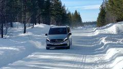 Mercedes EQV: il test in Svezia
