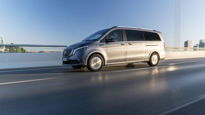 Mercedes EQV: il van elettrico di Stoccarda