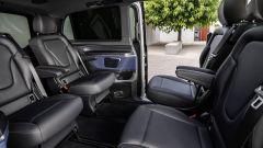 Mercedes EQV, il vano passeggeri