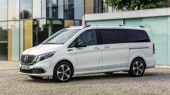 Mercedes EQV, la fiancata