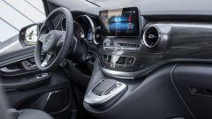 Mercedes EQV: plancia e console centrale