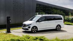 Mercedes EQV, ricarica batterie in meno di un'ora