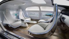 Mercedes F 015 Luxury in Motion - Immagine: 3