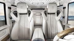Mercedes G63 AMG: gli interni del G Yachting in bianco