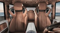 Mercedes G63 AMG: gli interni del G Yachting in color cognac