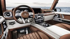 Mercedes G63 AMG: l'abitacolo in cognac di G Yachting