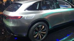 Mercedes Generation EQ, il posteriore