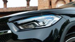 Mercedes GLA 200 d Automatic Premium, dettaglio del faro anteriore