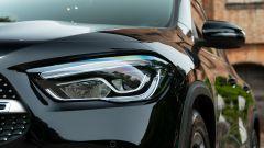 Mercedes GLA 200 d Automatic Premium, il gruppo ottico anteriore