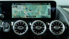 Mercedes GLA 200 d Automatic Premium, l'infotainment MBUX