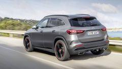 Mercedes GLA 2020: il 3/4 posteriore