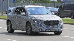 Mercedes GLA 2020, il muletto a Stoccarda