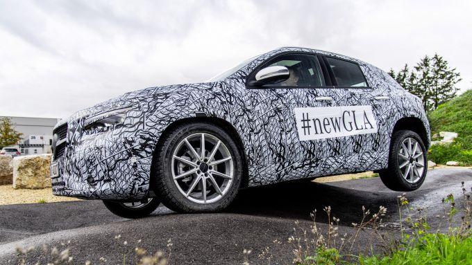 Mercedes GLA 2020, l'altezza cresce di 10 cm