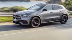 Mercedes GLA 2020, trazione anteriore o integrale 4MATIC