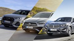 Mercedes GLA Vs Audi Q3 Vs BMW X1 - Video