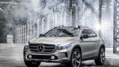Mercedes GLA Concept, nuove foto e video - Immagine: 11