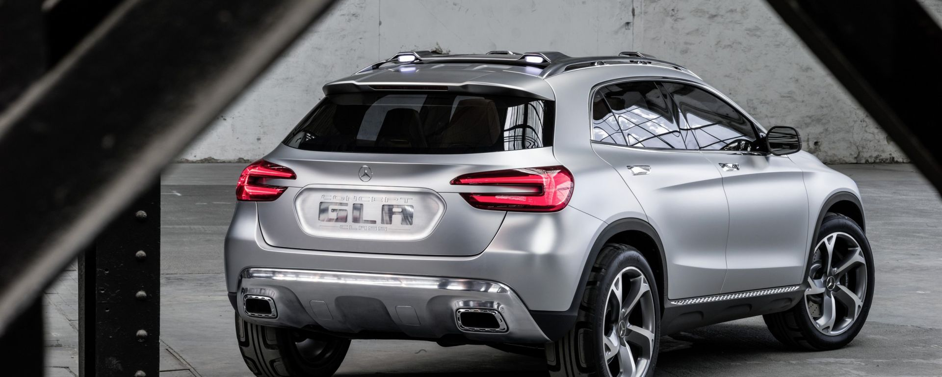 Mercedes GLA Concept, nuove foto e video