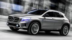 Mercedes GLA Concept, nuove foto e video - Immagine: 3