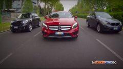 Mercedes GLA vs BMW X1 vs Mini Countryman - Immagine: 23