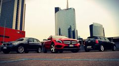 Mercedes GLA vs BMW X1 vs Mini Countryman - Immagine: 1