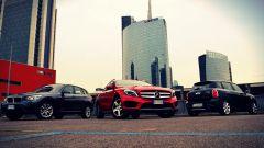 Mercedes GLA vs BMW X1 vs Mini Countryman - Immagine: 1