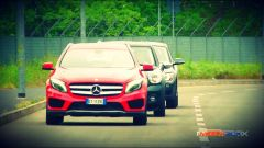 Mercedes GLA vs BMW X1 vs Mini Countryman - Immagine: 32