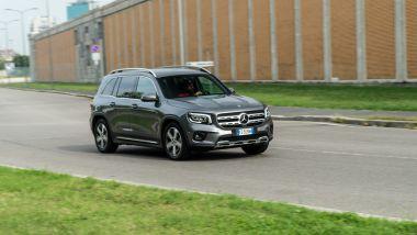 Mercedes GLB 200d Automatic: ci sono 4 profili di guida selezionabili