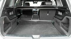 Mercedes GLB 200d: il capiente bagagliaio con gli schienali del divanetto divisibili 60:40