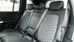 Mercedes GLB 200d: il divanetto posteriore