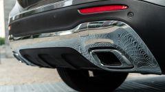 Mercedes GLB 200d: la piastra sottoscocca cromata