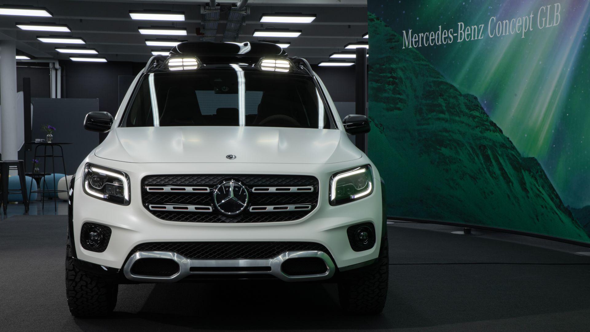 Mercedes Box Suv >> Mercedes GLB 2019: foto, news, dimensioni, motori, prezzo ...