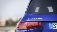 Mercedes GLB dettaglio faro posteriore