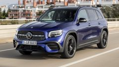 Mercedes GLB frontale dinamico