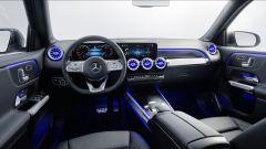 Mercedes GLB, gli interni